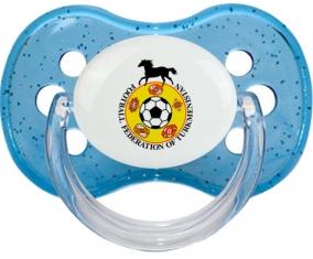 Turkmenistan national football team Tétine Cerise Bleu à paillette