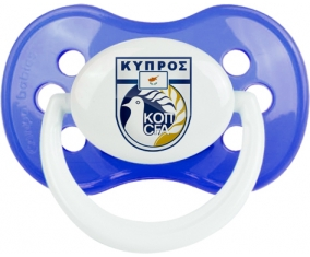 Cyprus national football team Tétine Anatomique Bleu classique