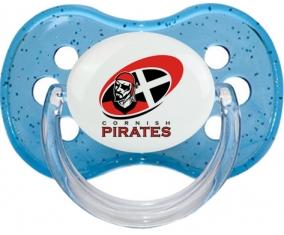 Cornish Pirates Tétine Cerise Bleu à paillette