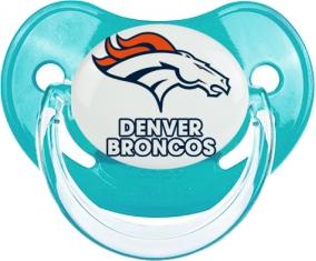 Denver Broncos Tétine Physiologique Bleue classique