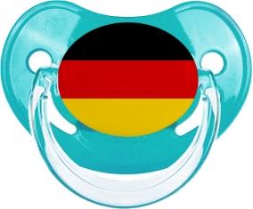 Drapeau Allemagne Tétine Physiologique Bleue classique