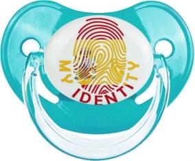 Empreinte My Identity Espagne Tétine Physiologique Bleue classique