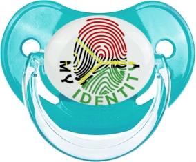 Empreinte My Identity Vanuatu Tétine Physiologique Bleue classique