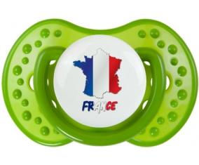 France maps Tétine LOVI Dynamic Vert classique