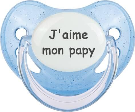 J'aime mon papy: Sucette Physiologique-su7.fr