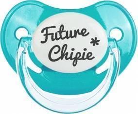 Originale future chipie : Sucette Physiologique personnalisée