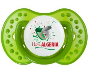 I love algeria design 3 Tétine LOVI Dynamic Vert classique
