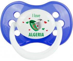 I love algeria design 4 Tétine Anatomique Bleu classique
