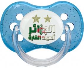 2 étoiles Algérie champions d'afriques : Sucette Cerise personnalisée