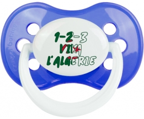 1 - 2 - 3 Viva L'algérie : Sucette Anatomique personnalisée