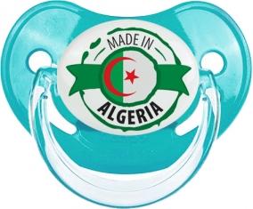 Made in Algeria design 2 Tétine Physiologique Bleue classique