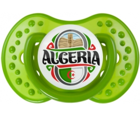 Flag Algeria design 2 Tétine LOVI Dynamic Vert classique