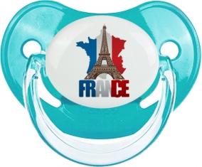 Carte France + Tour Eiffel : Sucette Physiologique personnalisée