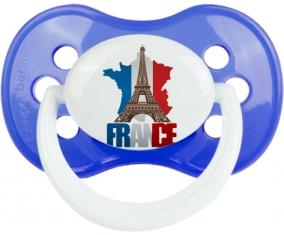 Carte France + Tour Eiffel : Sucette Anatomique personnalisée