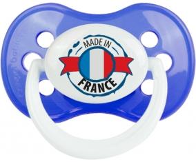 Made in France design 1 Tétine Anatomique Bleu classique