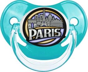 Ville de Paris design 2 Tétine Physiologique Bleue classique