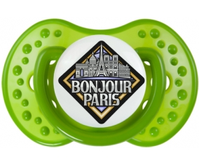 Ville de Paris design 3 Tétine LOVI Dynamic Vert classique