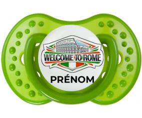 Welcome to Rome avec prénom Tétine LOVI Dynamic Vert classique