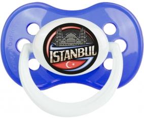 Ville d'Istamboul Tétine Anatomique Bleu classique