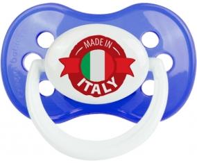 Made in Italie design 1 Tétine Anatomique Bleu classique
