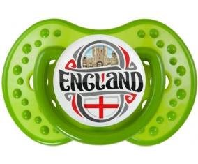 Flag England Tétine LOVI Dynamic Vert classique