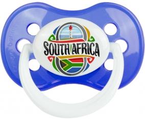 Flag South Africa Tétine Anatomique Bleu classique