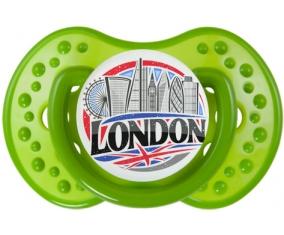 Ville de London Tétine LOVI Dynamic Vert classique