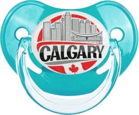 Ville de Calgary Tétine Physiologique Bleue classique