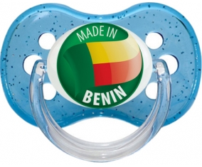 Made in BENIN Bleu à paillette