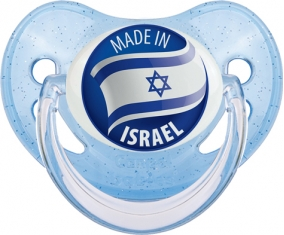 Made in ISRAEL Bleue à paillette