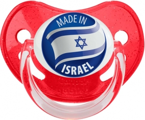 Made in ISRAEL Rouge à paillette