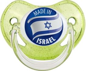 Made in ISRAEL Vert à paillette