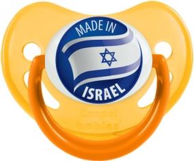 Made in ISRAEL Jaune phosphorescente