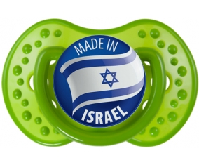 Made in ISRAEL : Sucette LOVI Dynamic personnalisée