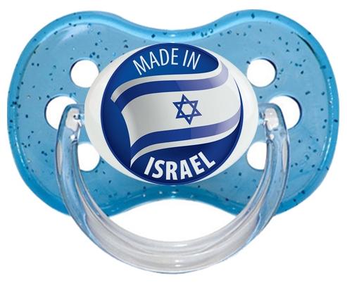 Made in ISRAEL Bleu à paillette