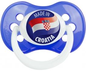 Made in CROATIA Bleu classique