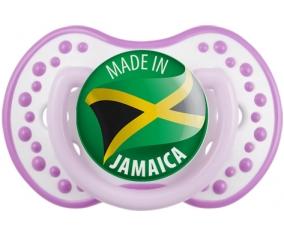 Made in JAMAICA Blanc-mauve classique