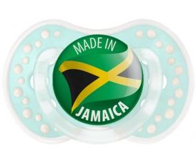 Made in JAMAICA Retro-turquoise-lagon classique