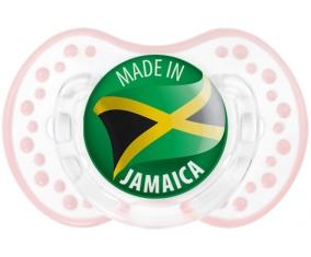 Made in JAMAICA Retro-blanc-rose-tendre classique