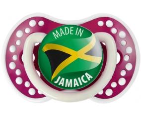 Made in JAMAICA Fuchsia phosphorescente