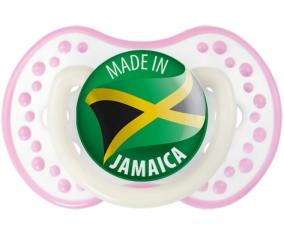 Made in JAMAICA Blanc-rose phosphorescente