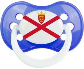 Drapeau Île à Jersey : Sucette Anatomique personnalisée