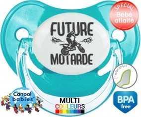 Future motarde style1 : Sucette Physiologique personnalisée