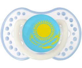 Drapeau Kazakhstan Tétine LOVI Dynamic Blanc-cyan classique
