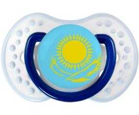 Drapeau Kazakhstan Tétine LOVI Dynamic Marine-blanc-bleu classique