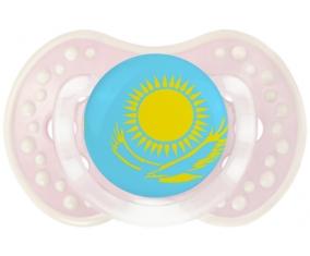 Drapeau Kazakhstan Tétine LOVI Dynamic Retro-rose-tendre classique