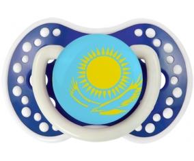Drapeau Kazakhstan Tétine LOVI Dynamic Bleu-marine phosphorescente