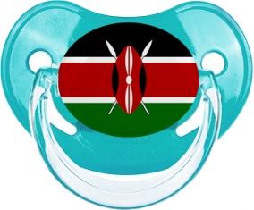 Drapeau Kenya : Sucette Physiologique personnalisée