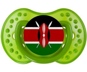 Drapeau Kenya : Sucette LOVI Dynamic personnalisée