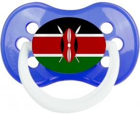Drapeau Kenya Tétine Anatomique Bleu classique